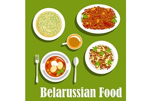 Traditional belarusian cuisine