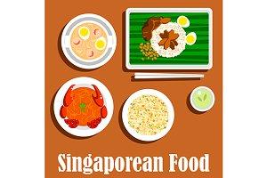 Singaporean dinner