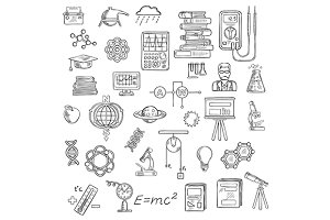 Physics, chemistry and astronomy