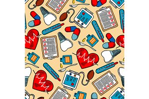 Health care theme pattern