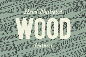 3 Wood Line Patterns - By hand