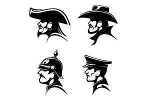 Cowboy, sailor, soldier, general