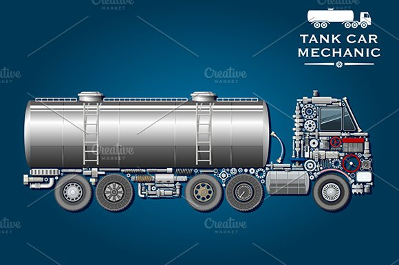 Modern tank truck