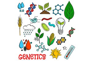 Genetic agriculture technologies