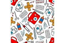 Medical supplies pattern