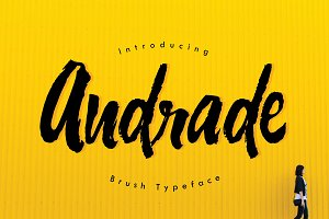 Andrade Typeface