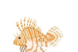 Fish Lionfish Pterois Volitans