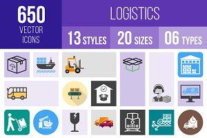 650 Logistics Icons