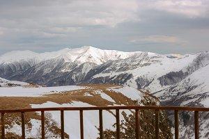 mountains Georgia Kazbegi