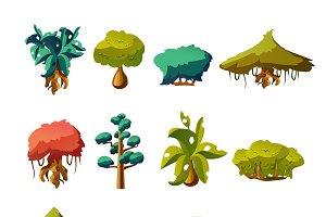 Tropical Trees Game Set