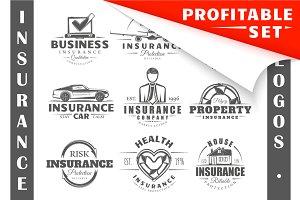 36 Insurance logo templates