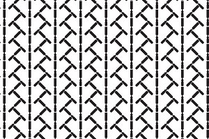 Seamless pattern background of chise