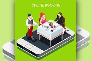 Online Booking Reservation Concept