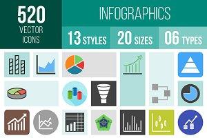 520 Infographics Icons