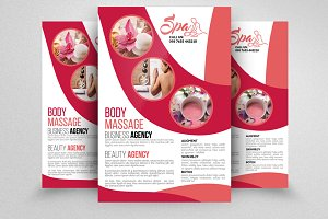 Spa Beauty Flyer