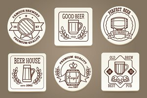 Beer coaster or drink coaster