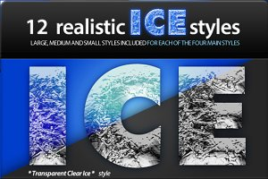 Realistic Ice Styles