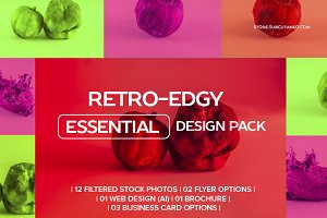 RETRO-EDGY ESSENTIAL DESIGN PACK