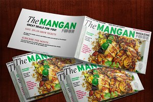 Foodie (Magazine Style) Presentation