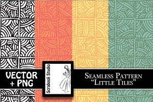 "Seamless Pattern ""Little Tiles"""