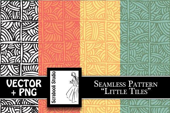 "Seamless Pattern ""Little Tiles"""