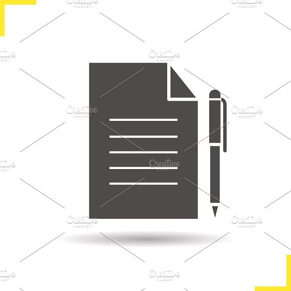 Contract icon. Vector - Icons