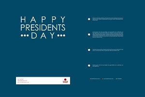 President's Day brochures