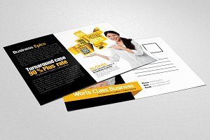 Business Trainer & Coach Postcard