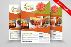 Spa Beauty Massage Flyer