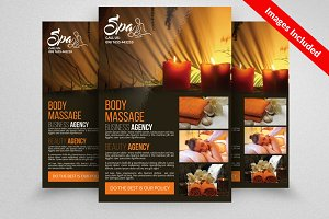 Beauty & Spa center Flyer