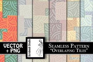 "Seamless Pattern ""Overlapping Tiles"""
