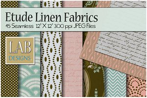 45 Fashion Linen Fabric Textures