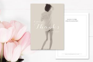 Boudoir Thank You Card