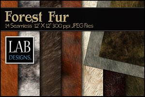 14 Seamless Animal Fur Textures