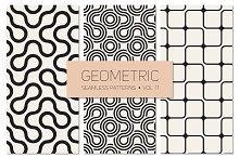 Geometric Seamless Patterns Set 11