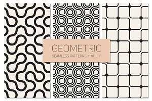 Geometric Seamless Patterns Set 11
