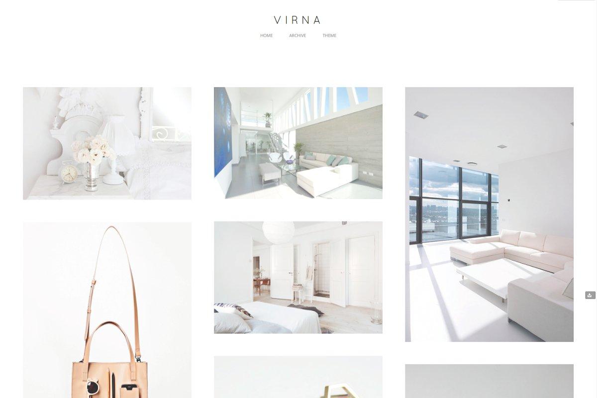 Virna Tumblr Theme