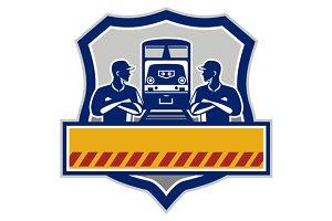 Train Engineers Arms Crossed Diesel