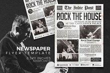 Newspaper Flyer Template