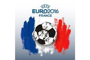 Euro 2016 France Banner