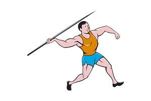 Javelin Throw Track and Field