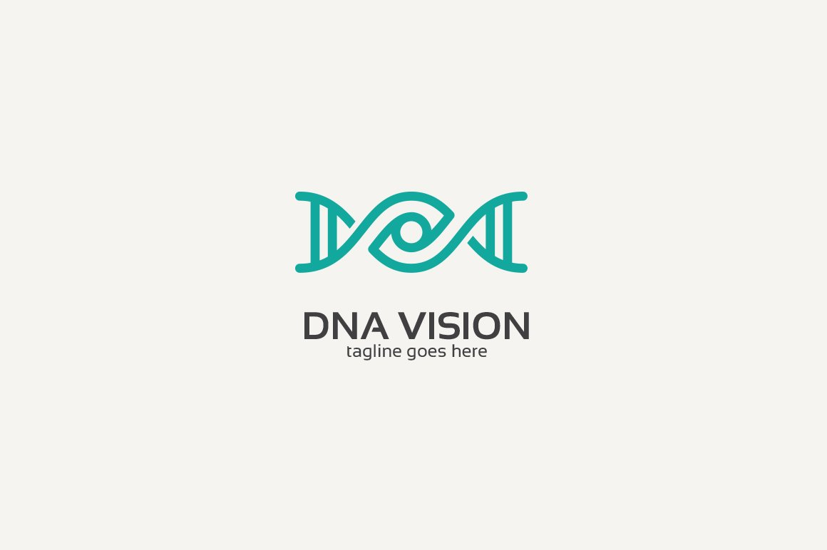Dna Eye Logo Logo Templates Creative Market