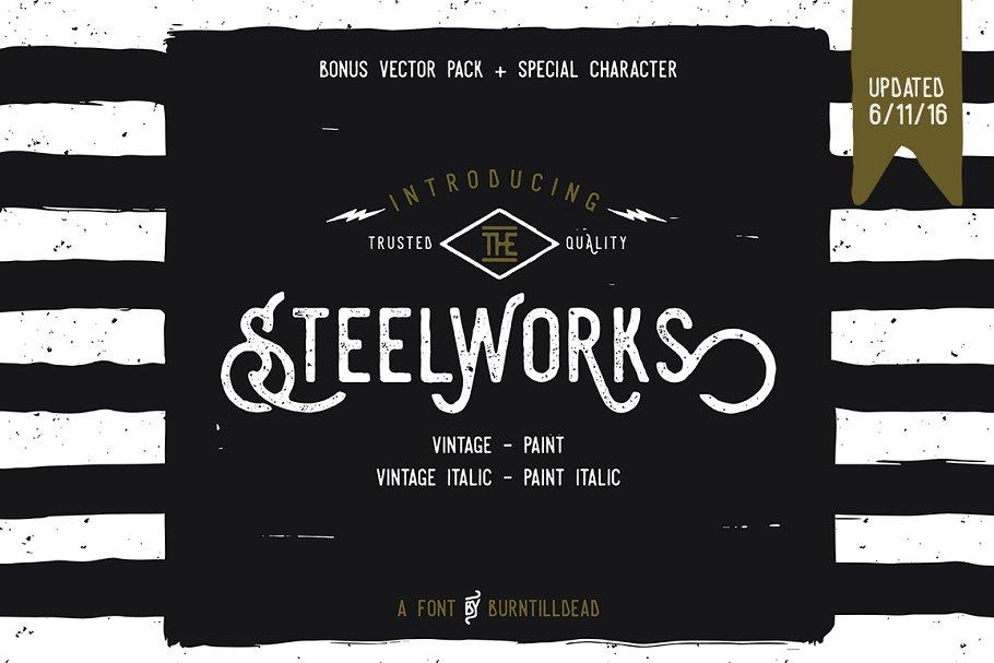Steelworks + Bonus (20%OFF)