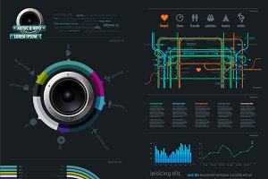 Infographic Music Elements