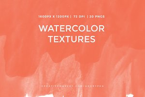 Watercolor Textures V16