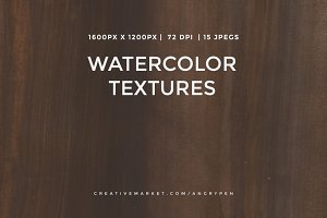 Watercolor Textures V17