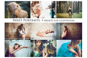 Sweet Portraits- 9 presets for Lr