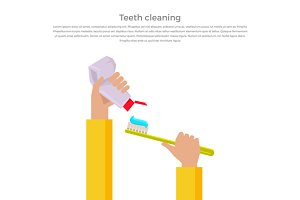 Teeth Cleaning Concept