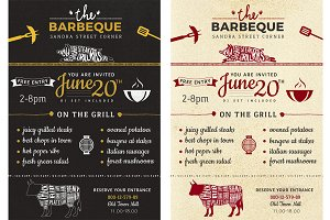 Barbeque Flyer Invitation