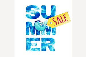 Summer Sale Letters